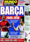 Portada Mundo Deportivo del 27 de Diciembre de 2008