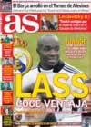 Portada diario AS del 30 de Diciembre de 2008