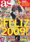 Portada diario AS del 31 de Diciembre de 2008