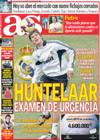 Portada diario AS del 2 de Enero de 2009