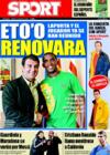 Portada diario Sport del 2 de Enero de 2009