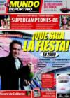Portada Mundo Deportivo del 2 de Enero de 2009