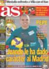 Portada diario AS del 3 de Enero de 2009