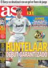 Portada diario AS del 4 de Enero de 2009