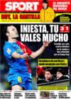Portada diario Sport del 4 de Enero de 2009