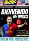 Portada Mundo Deportivo del 4 de Enero de 2009