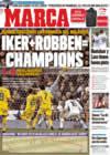 Portada diario Marca del 5 de Enero de 2009