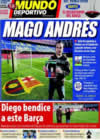 Portada Mundo Deportivo del 5 de Enero de 2009