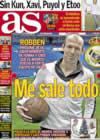 Portada diario AS del 6 de Enero de 2009