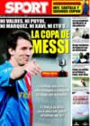 Portada diario Sport del 6 de Enero de 2009