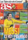 Portada diario AS del 7 de Enero de 2009