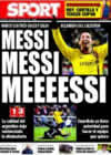 Portada diario Sport del 7 de Enero de 2009