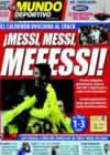 Portada Mundo Deportivo del 7 de Enero de 2009