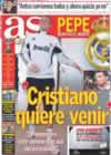 Portada diario AS del 8 de Enero de 2009