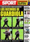 Portada diario Sport del 8 de Enero de 2009