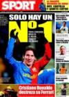 Portada diario Sport del 9 de Enero de 2009
