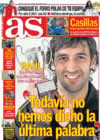 Portada diario AS del 10 de Enero de 2009