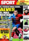 Portada diario Sport del 10 de Enero de 2009