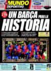 Portada Mundo Deportivo del 11 de Enero de 2009