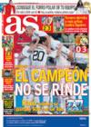 Portada diario AS del 12 de Enero de 2009