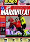 Portada Mundo Deportivo del 12 de Enero de 2009