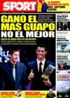 Portada diario Sport del 13 de Enero de 2009