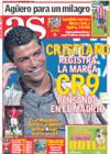Portada diario AS del 14 de Enero de 2009