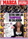Portada diario Marca del 14 de Enero de 2009