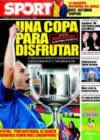 Portada diario Sport del 14 de Enero de 2009