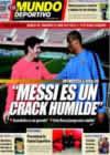 Portada Mundo Deportivo del 14 de Enero de 2009