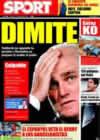 Portada diario Sport del 16 de Enero de 2009