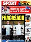 Portada diario Sport del 17 de Enero de 2009