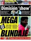 Portada Mundo Deportivo del 17 de Enero de 2009