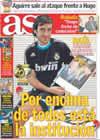 Portada diario AS del 18 de Enero de 2009