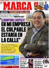Portada diario Marca del 18 de Enero de 2009
