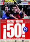 Portada Mundo Deportivo del 18 de Enero de 2009