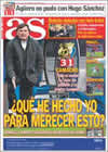 Portada diario AS del 19 de Enero de 2009