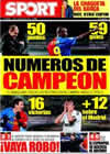 Portada diario Sport del 19 de Enero de 2009