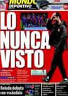 Portada Mundo Deportivo del 19 de Enero de 2009