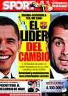 Portada diario Sport del 20 de Enero de 2009