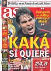 Portada diario AS del 21 de Enero de 2009