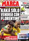 Portada diario Marca del 21 de Enero de 2009