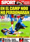 Portada diario Sport del 22 de Enero de 2009