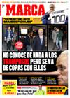 Portada diario Marca del 23 de Enero de 2009