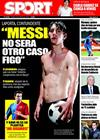 Portada diario Sport del 23 de Enero de 2009
