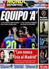 Portada Mundo Deportivo del 24 de Enero de 2009