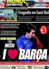Portada Mundo Deportivo del 25 de Enero de 2009