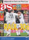 Portada diario AS del 26 de Enero de 2009