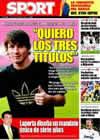 Portada diario Sport del 26 de Enero de 2009