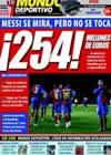 Portada Mundo Deportivo del 26 de Enero de 2009